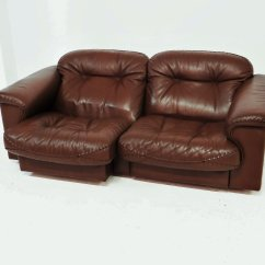 De Sede Sofa Vintage Chester Tufted Leather Ds 101 Lounging From For Sale At Pamono