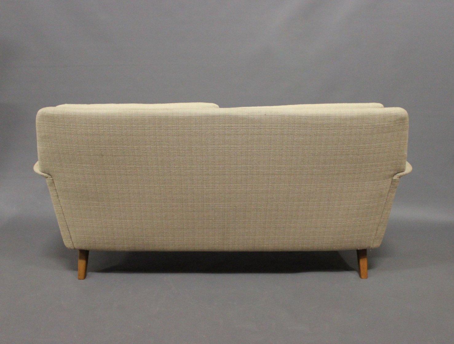 dux sofa by folke ohlsson light gray sofas 2 seater for fritz hansen 1960s