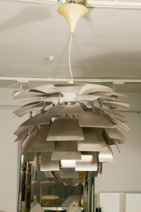 Large Artichoke Ceiling Lamp by Poul Henningsen for ...