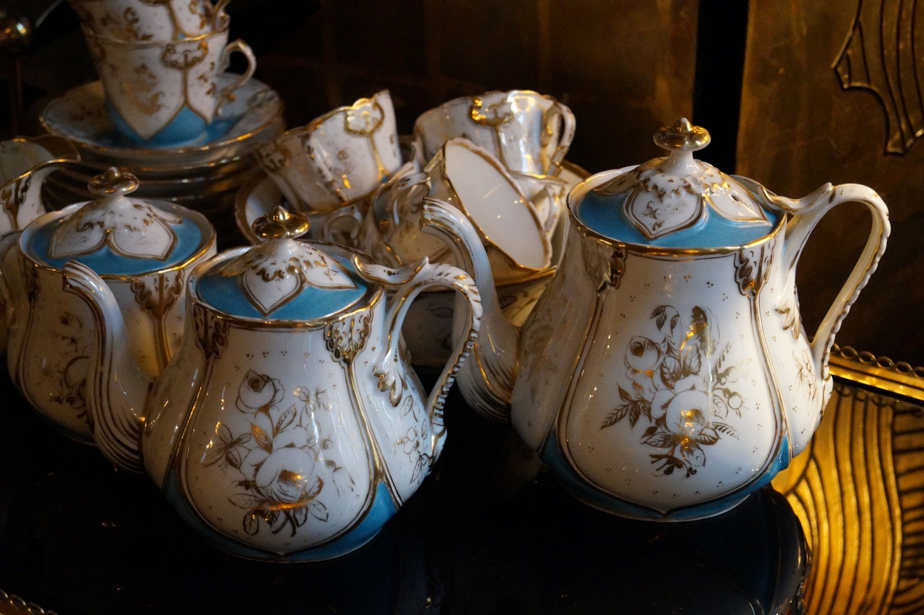 classic style sofa best designs in the world antique paris porcelain tea service, 1850 for sale at pamono