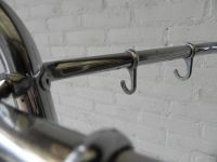 Vintage Chrome Standing Coat Rack, 1950s for sale at Pamono
