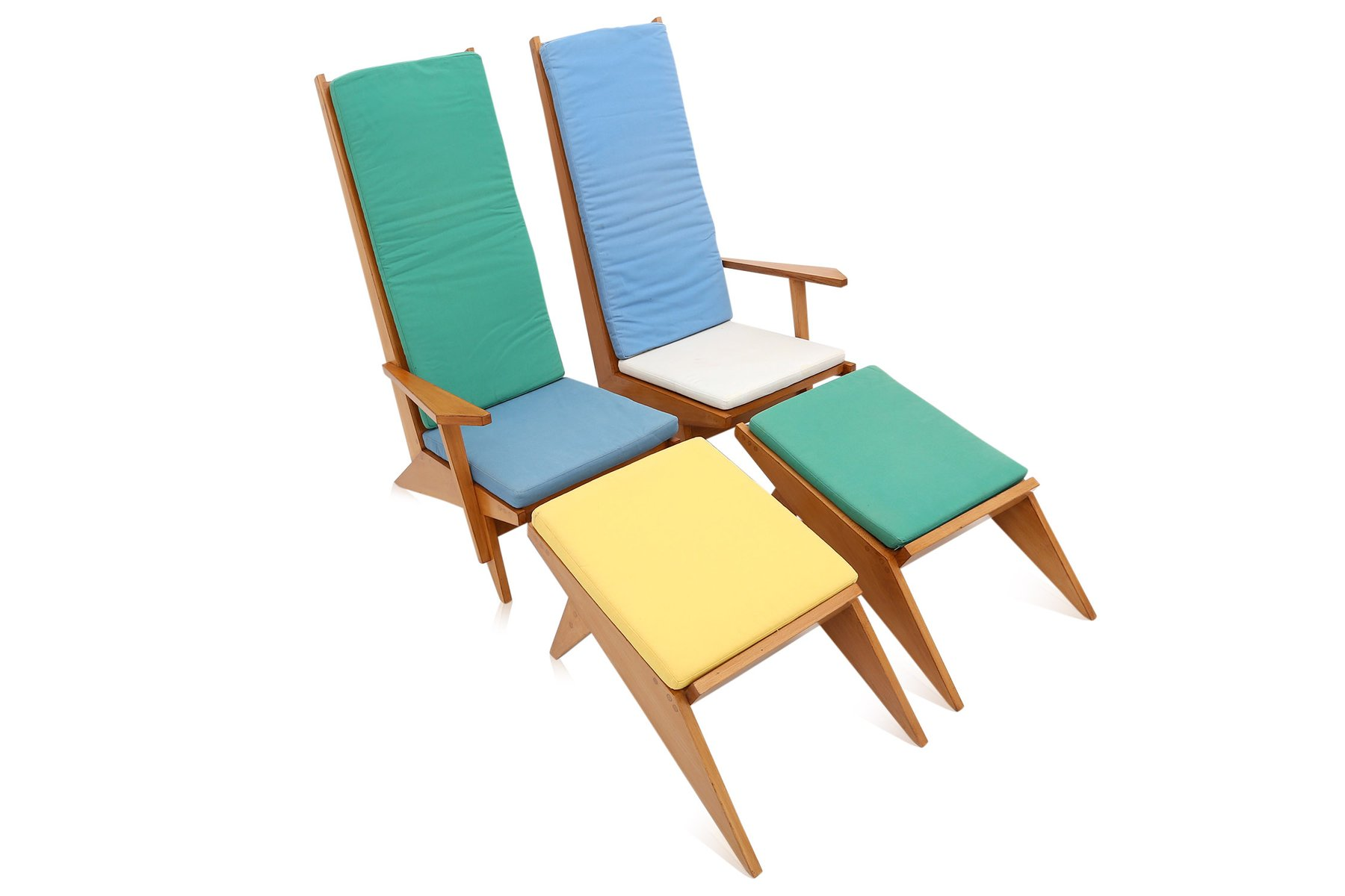 Commercial Pool Lounge Chairs Vintage Italian Swimming Pool Lounge Chairs 1970s For