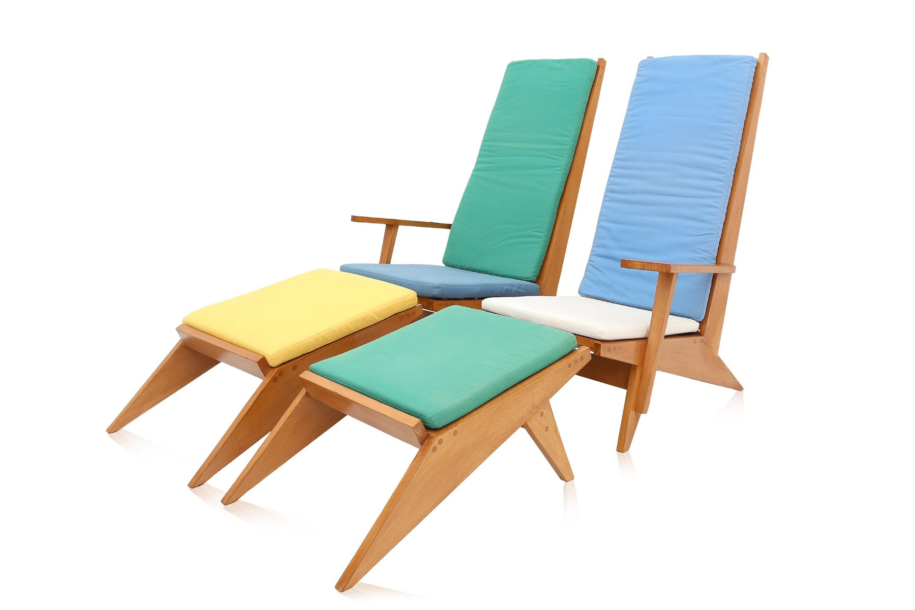 Pool Lounge Chair Vintage Italian Swimming Pool Lounge Chairs 1970s