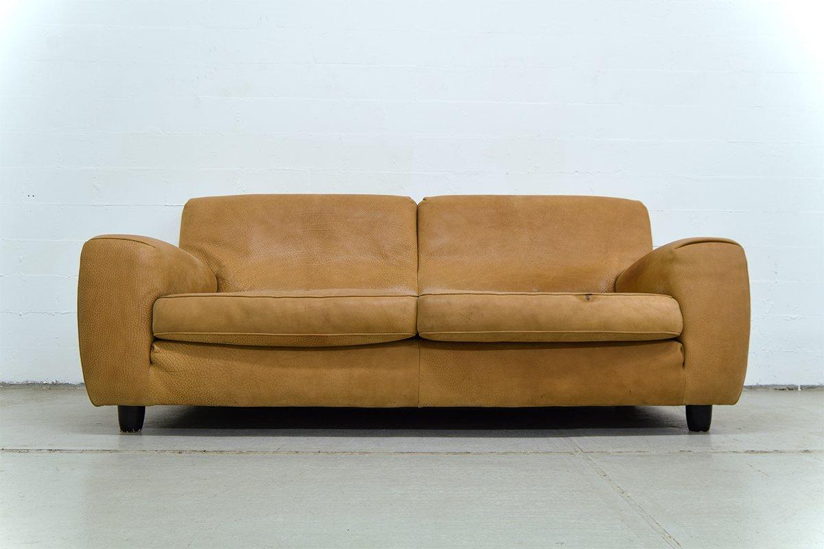 classic italian leather sofa bed futon mattress vintage from molinari for sale at pamono