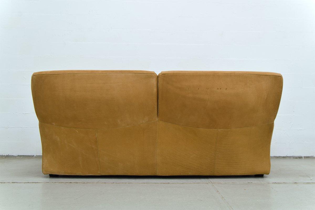 classic italian leather sofa lee burbank sleeper vintage from molinari for sale at pamono