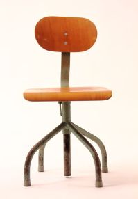 Industrial Architect's Swivel Chair for sale at Pamono