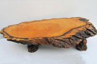 Large Tree Trunk Coffee Table, 1960s for sale at Pamono