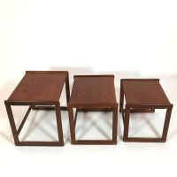 Mid-Century Scandinavian Nesting Tables for sale at Pamono