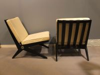 Mid-Century Scissor Chairs by Pierre Jeanneret for Knoll ...