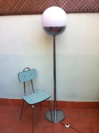 Spanish Large Vintage Floor Lamp, 1970s for sale at Pamono