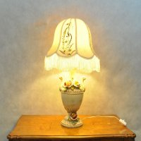Vintage Italian Lamp in Porcelain for sale at Pamono