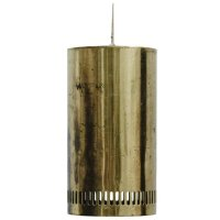 Vintage Metal Pendant Lamp for sale at Pamono
