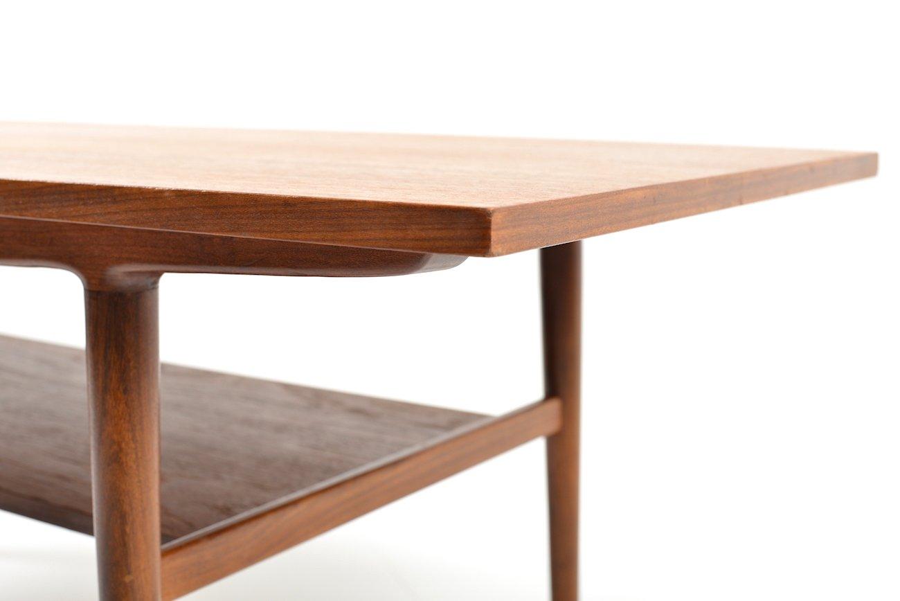 teak sofa table mid century leather toronto danish 1960s for sale at pamono