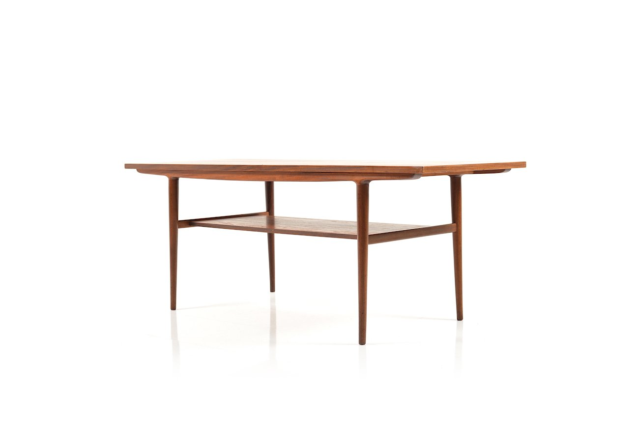 teak sofa table leather cleaner danish 1960s for sale at pamono