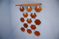 Danish Teak and Chrome Coat Rack, 1960s for sale at Pamono