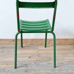 Green Metal Bistro Chairs Egg Chair Outdoor Vintage For Sale At Pamono