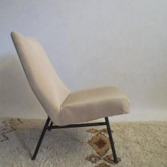 Chair And Matching Stool Hideaway Table Chairs Mid Century Lounge With By Pierre Guariche Price Per Set