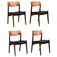 Mid-Century Danish Rosewood Dining Chairs, 1968, Set of 4 ...