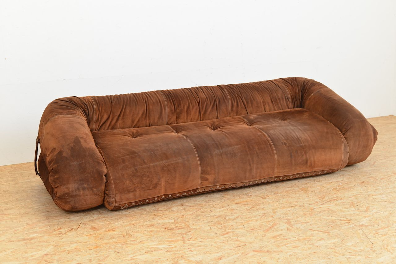 anfibio leather sofa bed living room decorating ideas with red sofas vintage by alessandro becchi for