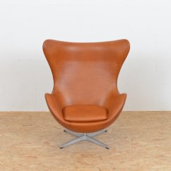 Mid Century Egg Chair Posture Ikea Leather By Arne Jacobsen For Fritz Hansen