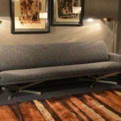 Sofa For Van Singapore Futon Style Sleeper Gray Fabric By Georges Rijck Beaufort 1960s