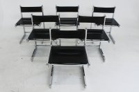Mid-Century Modern Chrome Dining Chairs, Set of 6 for sale ...