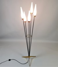 Italian Floor Lamp from Stilnovo for sale at Pamono