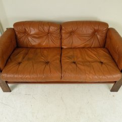 Sofa Rose Wood Very Small Corner Sofas Danish Rosewood Leather 1960s For Sale At Pamono
