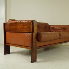 Sofa Rose Wood Bed Olx Bangalore Danish Rosewood Leather 1960s For Sale At Pamono