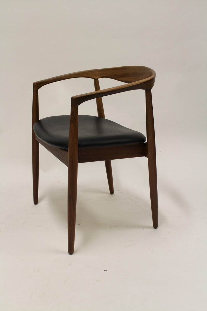 ikea wooden chairs wicker back model troja armchair by kai kristiansen for 1960s sale at