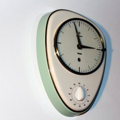 Kitchen Clocks For Sale Remodel Ideas Small Kitchens Mid Century Clock From Junghans 1960s At