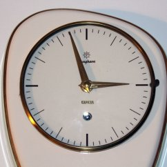 Kitchen Clocks For Sale Katana Knife Mid Century Clock From Junghans 1960s At