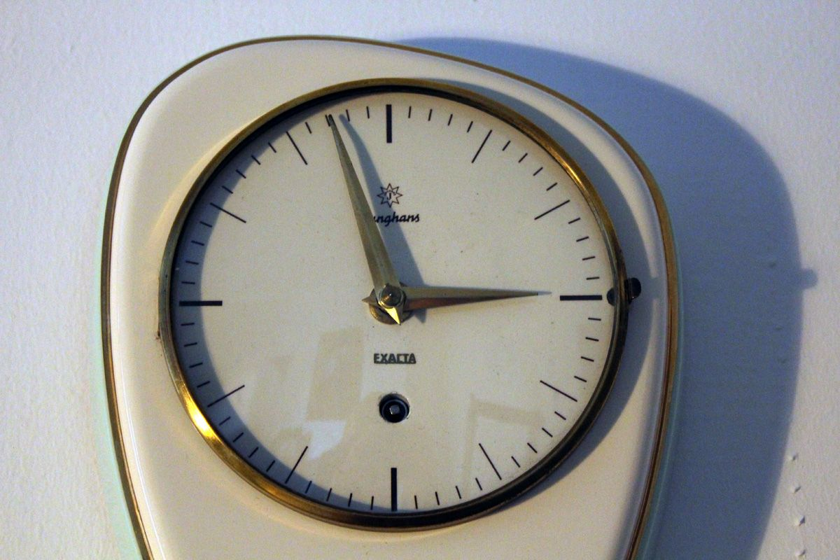 kitchen clocks for sale best place to buy island mid century clock from junghans 1960s at