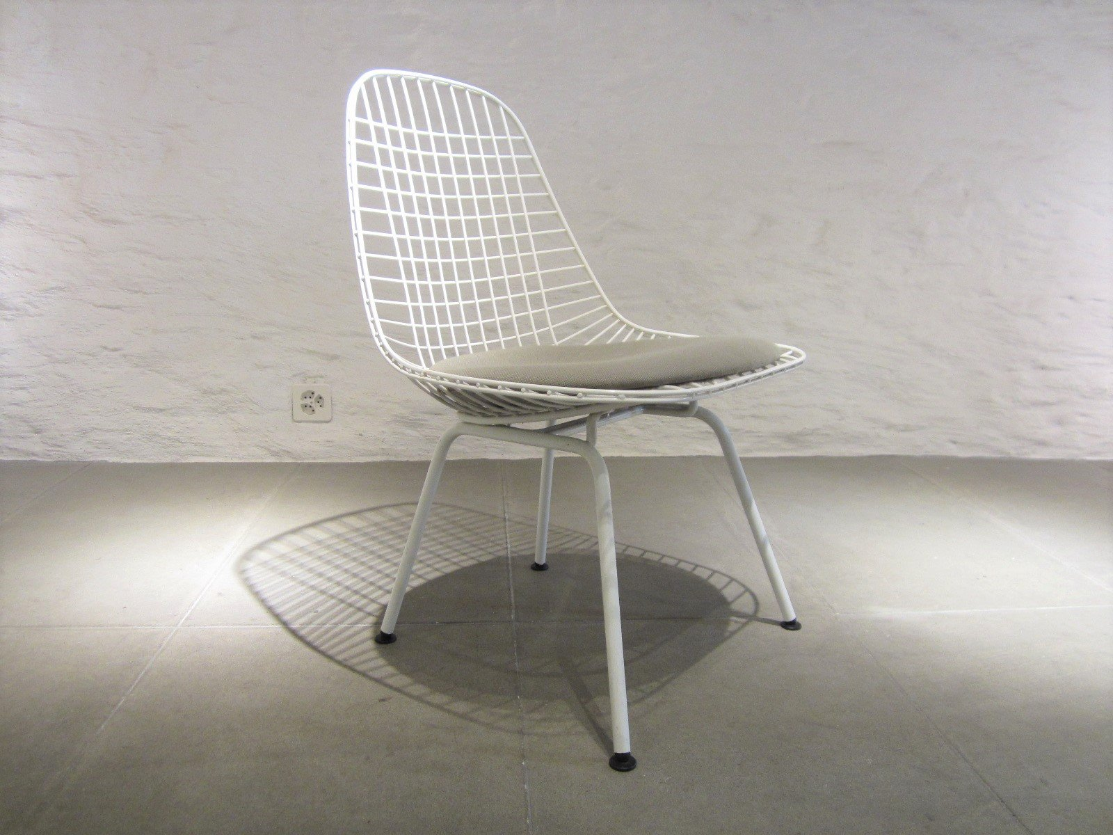 Eames Wire Chair Wire Chair By Charles Ray Eames For Vitra 1980s