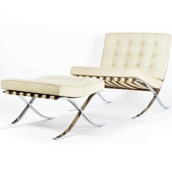 Mies Van Der Rohe Barcelona Chair Argos Covers Black Vintage And Ottoman By Ludwig For Knoll 6 5 897 00 Price Per Set