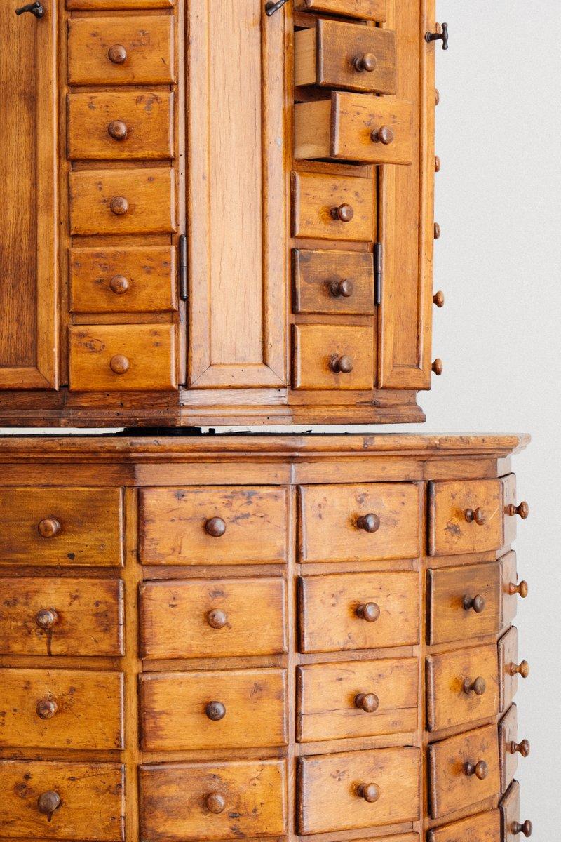 antique german rotating bolt cabinet by justus ebert hunfeld