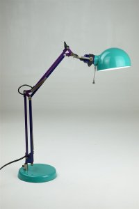 Vintage Industrial Articulating Desk Lamp for sale at Pamono