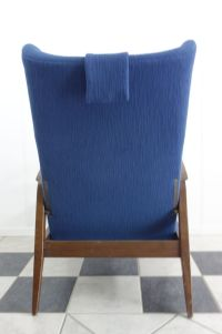 Reclining Wingback Chair from Knoll Antimott, 1965 for ...