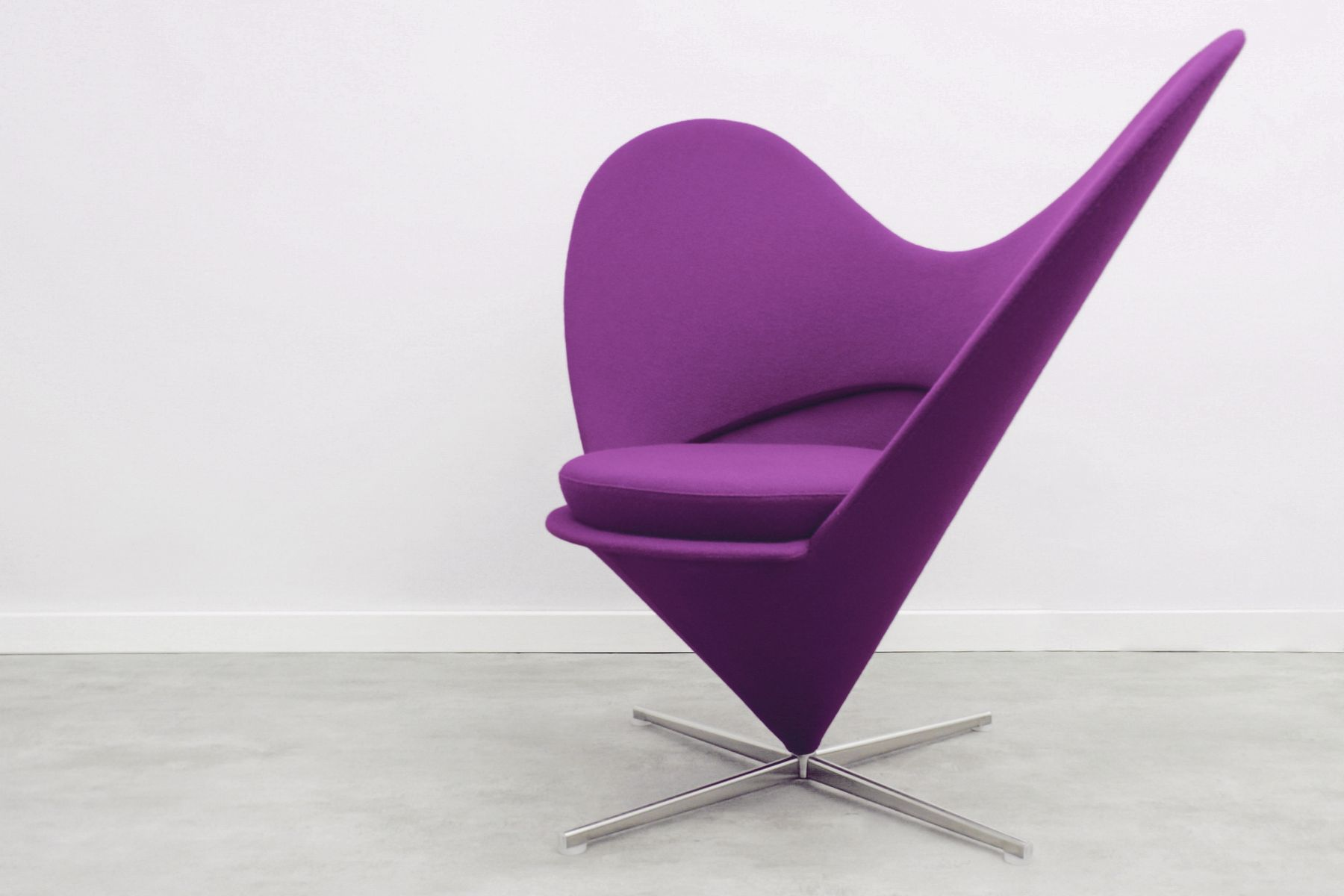Heart Chair Heart Cone Chair By Verner Panton For Vitra 1980s For