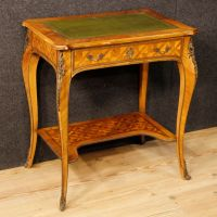 Mid-Century French Inlaid Writing Table for sale at Pamono