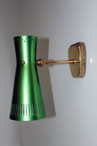 Vintage Wall Lamp from Stilnovo for sale at Pamono