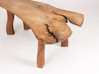 Mid-Century Elm Side Table by Carl-Axel Beijbom for ...