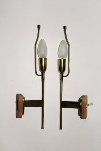 Vintage Wall Lamps by Kalmar, Set of 2 for sale at Pamono