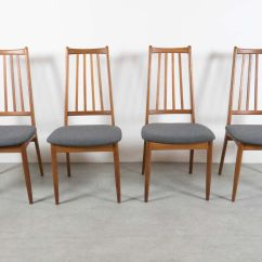Set Of 8 Dining Chairs Calloway Chair 1 2 Recliner Vintage Danish High Back For Sale