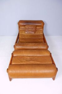 Vintage Swedish Lounge Chair & Ottoman, 1960s for sale at ...