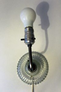 Vintage Wall Lamp by Lobmeyr for sale at Pamono