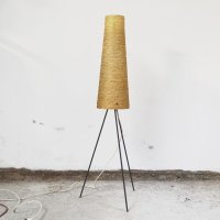 Tripod Floor Lamp in Metal, 1960s for sale at Pamono