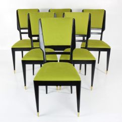 Italian Dining Chairs Australia Wooden Office Chair Design 1950s Set Of 6 For Sale At Pamono