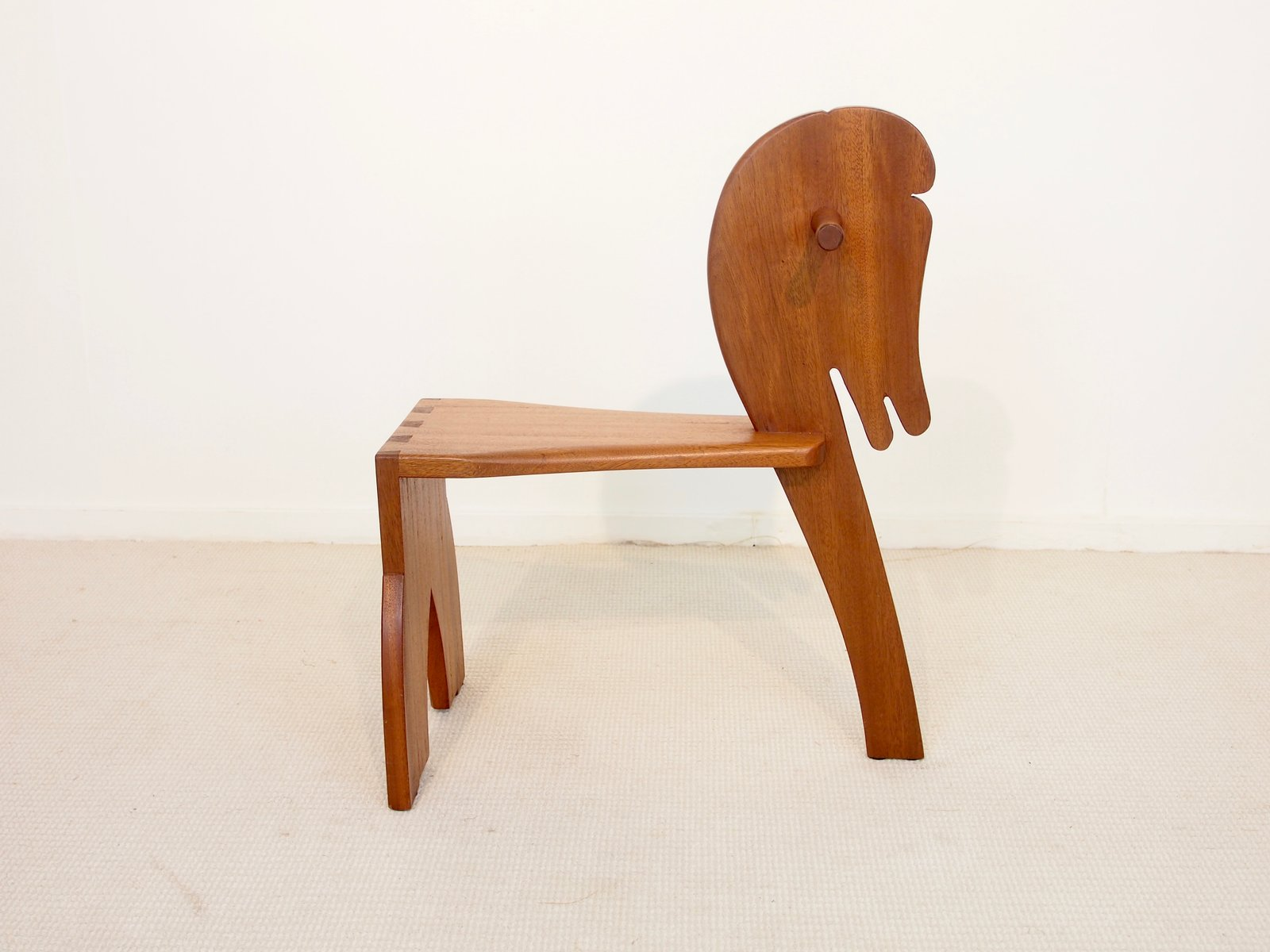 Scandinavian Chair Small Mid Century Scandinavian Style Teak Children S Horse Chair