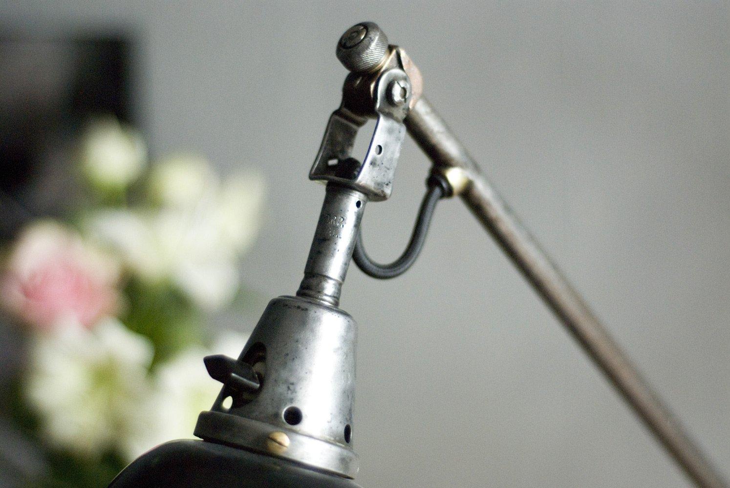 Grande Lampe  Ciseaux Modle 112 Vintage par Curt Fischer pour Midgard  Industriewerke Auma en